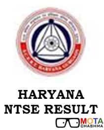 ntse haryana result