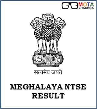 ntse meghalaya result