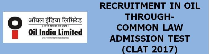 PSU Recruitment through CLAT 2017