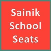 sainik school seats