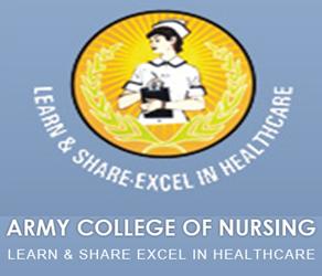 Army college of nursing logo