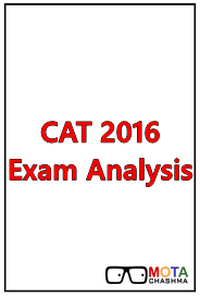cat 2016 exam analysis