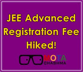 jee advanced registration fee 2018 hiked
