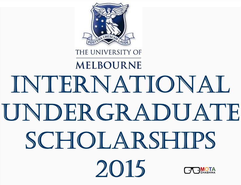 International Undergraduates Scholarship Program 2015