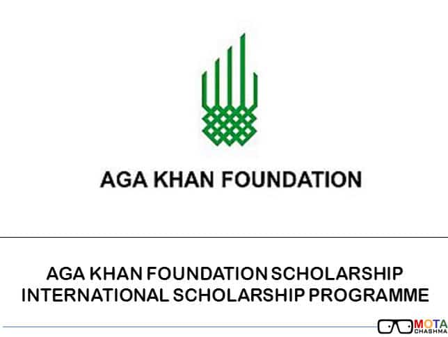 Aga Khan Foundation Scholarship