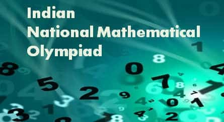 INMO- Indian National Mathematical Olympiad