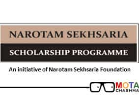 narotam sekhsaria engineering scholarship