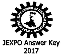 JEXPO Answer Key 2017