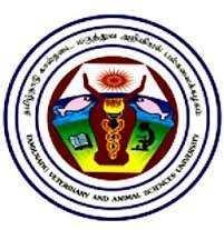 TANUVAS Admission 2017